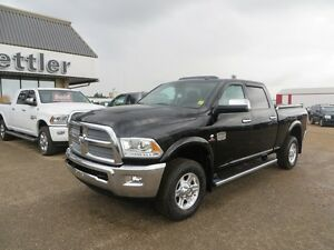 2013 RAM 2500 Laramie Longhorn 4X4 HEATED SEATS! TOW PACKAGE!