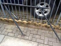 Metal hand rails