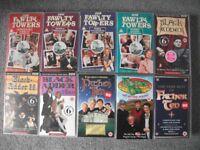 10 COMEDY VHS VIDEOS
