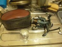 BARBARIAN MATCH 30 FISHING REEL AND SOARE SPOOL AND CASE