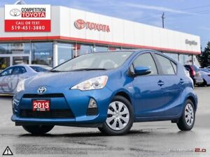 2013 Toyota Prius c Toyota Certified, One Owner, No Accidents...