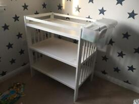 Baby Changing Unit - White