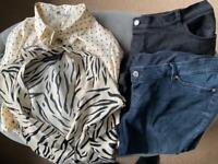 Used maternity clothes bundle