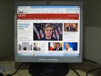 "HP 1702 17"" Flat Screen LCD Monitor"