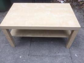 Maple coffee / tv table