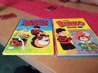 Two Beano comic books 1989