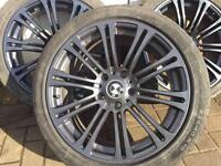 """BMW alloy wheels staggered 18"""""""