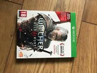 Witcher 3 Xbox one game