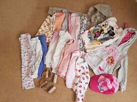 19 items of girls clothing for sale