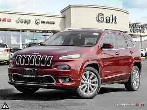 2016 Jeep Cherokee OVERLAND | DEMO | LEATHER | PARK ASSIST | SUN