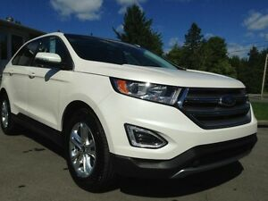 2015 Ford Edge AWD GPS TOIT PANORAMA ECOBOOST CUIR REAR CAM