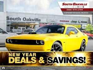 2017 Dodge Challenger R/T Shaker | HTD & VTD LEATHER | NAV | SUN
