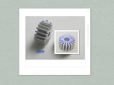 10 Pcs Mini Size 0.5w - 1w Watt Led Aluminium Heatsink Round