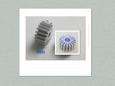 10 Pcs Mini Size 0.5w - 1w Watt Led Aluminium Heatsink Round