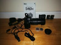 Selling Nikon DX40 with lense 18-135mm and accessories