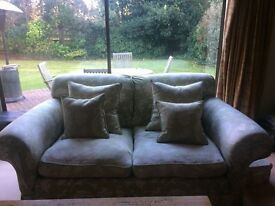 Two Duresta Two Seater Sofas