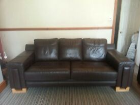 2 x 3 seater sofas with swivel chair excellent condition 400 Ono