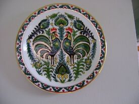 24 character gold trimmed Rhodian Irish plate