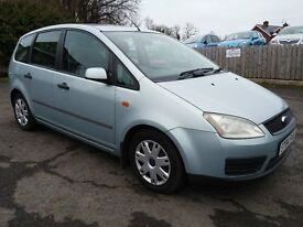 2004 Ford Focus CMax 1.8 LX ** Low Miles, MOT May 17, Great Condition and Driver