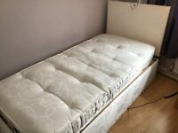 REDUCED - BARGAIN - RESTWELL ADJUSTABLE ELECTRIC SINGLE BED WITH MATTRESS - REDUCED