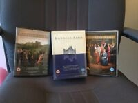 Downton abbey DVD's series 1&2 and 2 extras