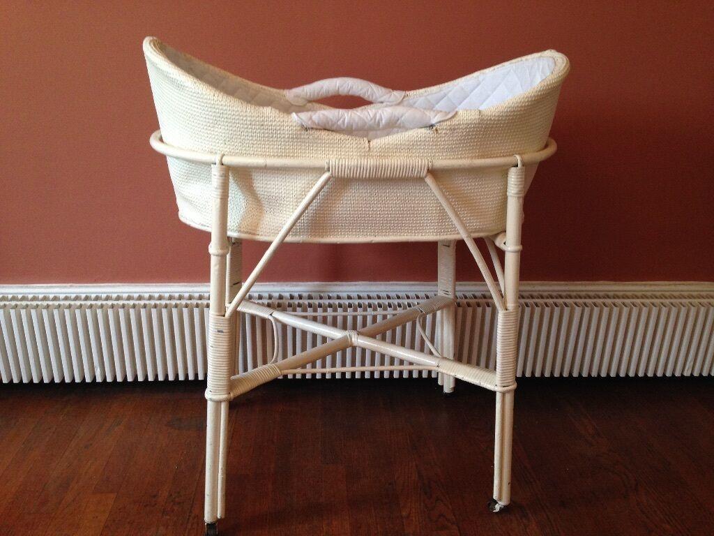 Image Result For Vintage Wicker Crib