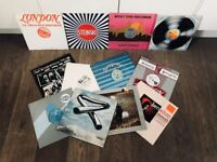 "Job Lot of 12 12"" Vinyl Records inc. Mike Oldfield, Thompson Twins, Tom Tom Club, etc."