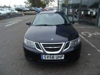 ESTATE!! 2008 58 SAAB 9-3 1.9 AIRFLOW 5D 151 BHP**** GUARANTEED FINANCE **** PART EX WELCOME ****