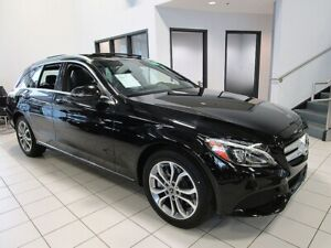 2018 Mercedes Benz C-Class IT'S A MUST SEE!! C300 4MATIC WAGON w