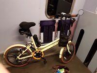Viking Electric Pedelec Ultra Light Semi Folding Bike