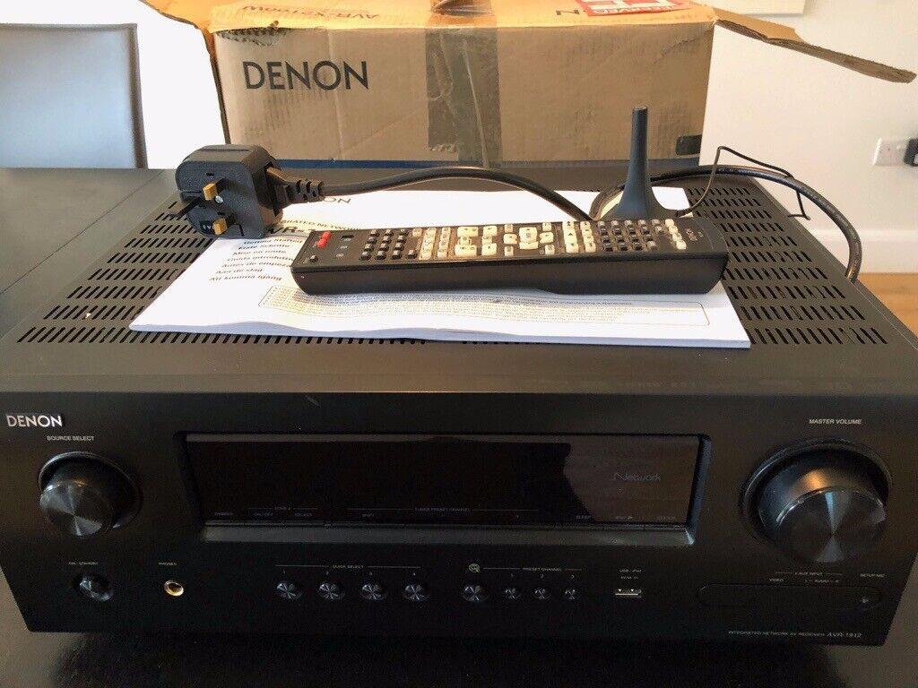Denon AVR 1912 - 7 1 channel HD Audio Receiver | in Sevenoaks, Kent |  Gumtree