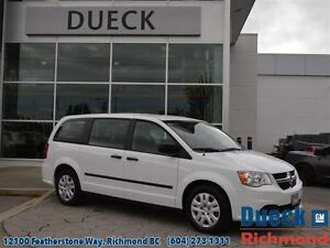 2015 Dodge Grand Caravan SE/SXT  LOW Mileage - Accident Free