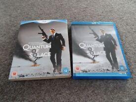 Blu-Ray Disc - James Bond Quantum of Solace