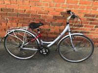 Raleigh Pioneer Metro Ladies Town Bike. Fully Serviced, Free Lights, Lock, Delivery.