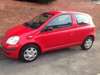 TOYOTA YARIS T3 VVT-i 1.3L 2004 REG WITH FULL MOT, FULL SERVICE HISTORY TIDY THROUGHOUT, HPi CLEAR