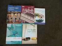 English Law book bundle *In very good condition* Great bargain!