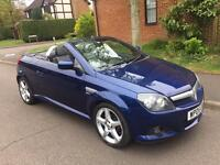 2005 Vauxhall Tigra 1,4 litre 3dr convertible 2 owners