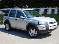 2005 (05) Land Rover Freelander 2.0 TD4 Adventurer |12 MONTHS MOT | NEW CLUTCH | DIESEL |LOW MILAGE