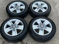 """17"""" VW Transporter Davenport Alloy Wheels & Tyres 5X120 SET 1"""
