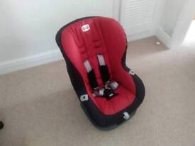 Britax Eclipse child car seat.group 1 (9 - 18kg) chilli red.
