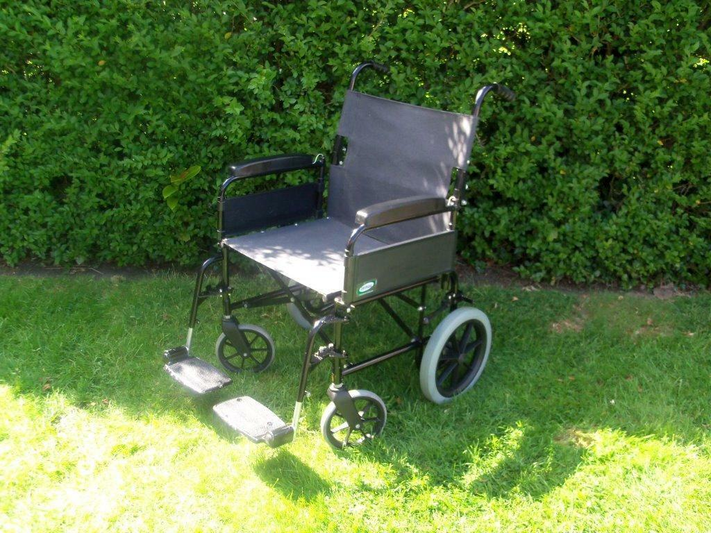 Lomax Folding Wheelchair In Oadby Leicestershire Gumtree