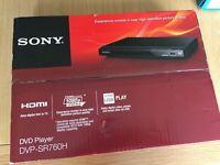 Sony DVP-SR760H HDMI Upscale DVD player - NEW