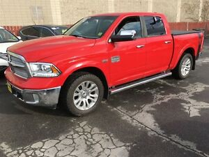 2014 Ram 1500 Longhorn, Quad Cab, Automatic, Navigation, Heated
