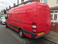 Mercedes sprinter 2009 red colour LWB sale today