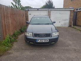 2002 AUDI A6 2.5 TDI Quattro, NEW MOT, 2 PREVIOUS OWNERS, TOP SPECS, WELL LOOKED AFTER