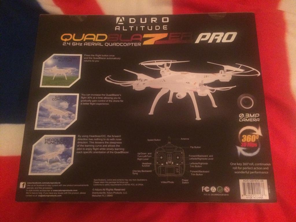 Brand new quadcopter with camera