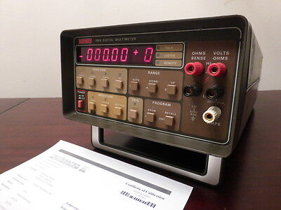 Keithley 195a 5.5 Digit 20mv - 1000vdc 20 Mohm Digital Multimeter - Calibrated