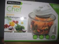 UNUSED HALOGEN OVEN BY PROLECTRIX