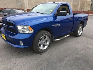 2016 Ram 1500 Express, Regular Cab, Automatic.