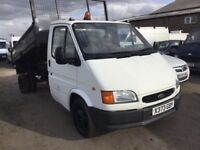 SMILEY FRONT FORD TRANSIT TWINWHEEL TIPPER TRUCK LOW MILEAGE ULTRA RELIABLE MOT JUNE ANYTRIAL WEKCO